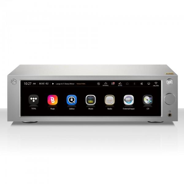 Rose RS250 Netzwerkspieler - Streamer mit Vorverstärkerfunktion und D/A-Wandler
