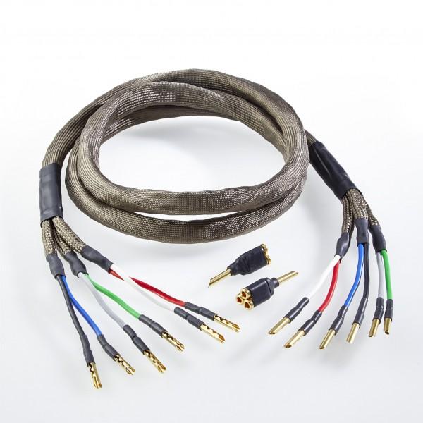 HS4-TTP250-BA Lautsprecherkabel Tri-Wiring