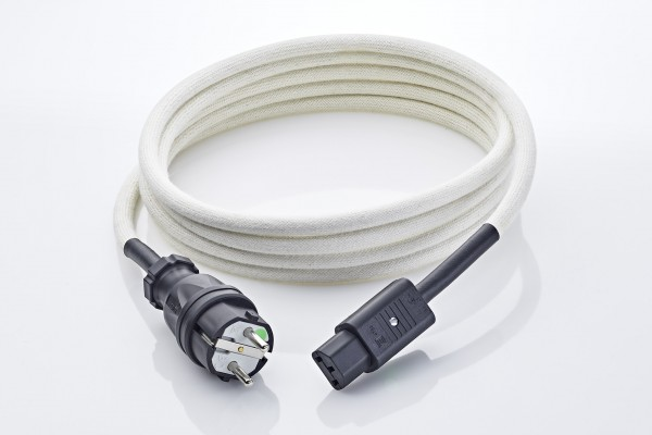 SK-GK-NFE-BW Netzkabel mit Kaltgerätestecker